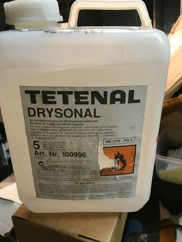 TETENAL DRYSONAL 5 LITRE RAPID DRYING AGENT FOR FILMS